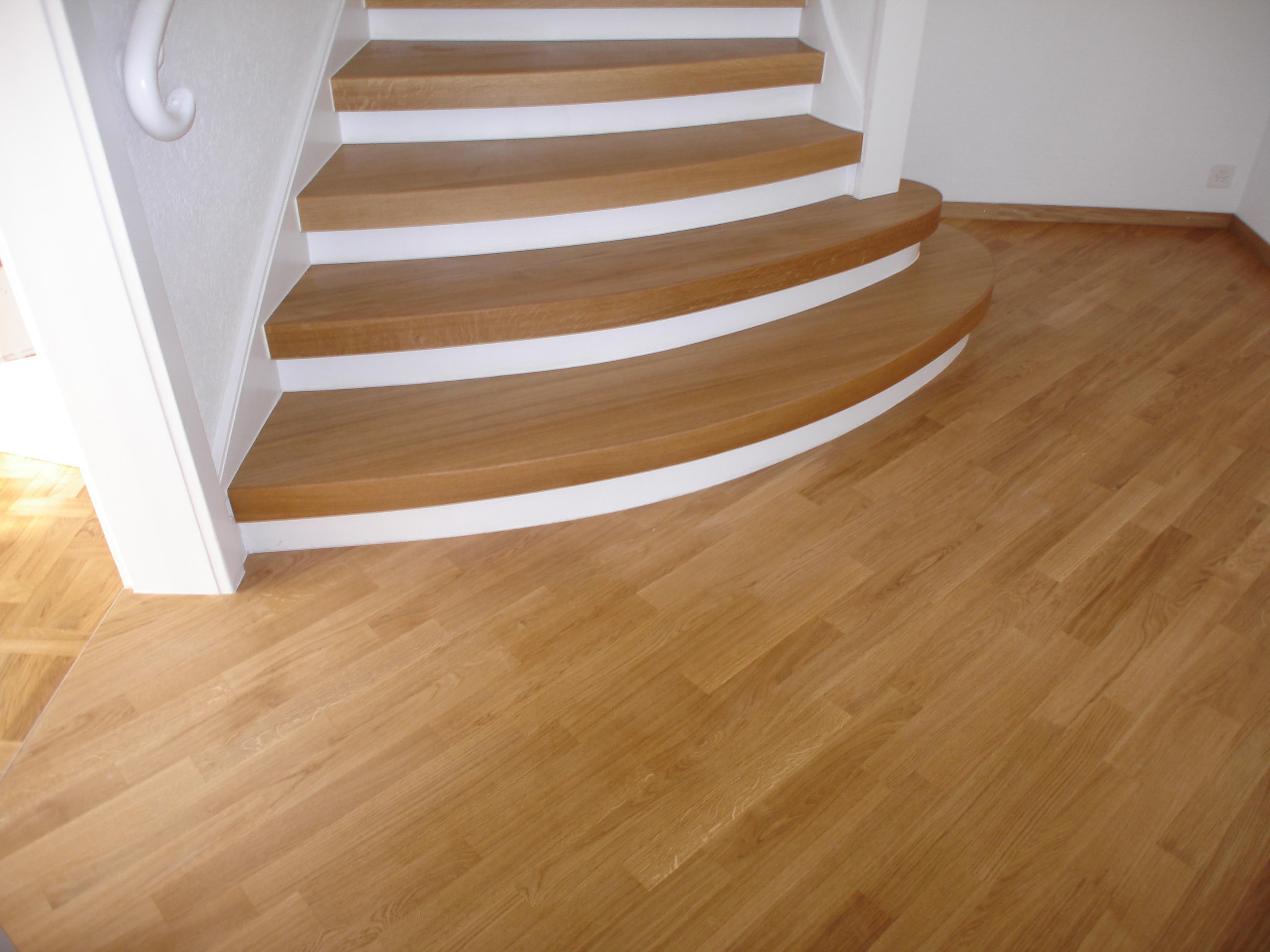 Sanierung öffentliche Treppe