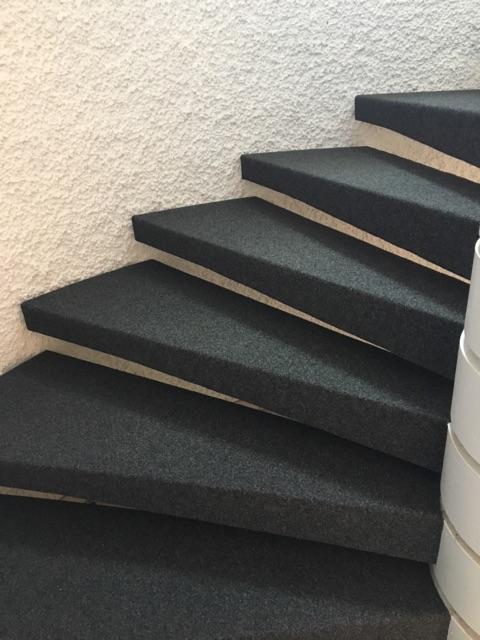 Treppe belegt
